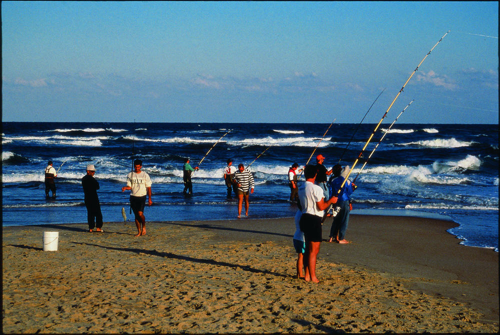 Surf fishing on the outer banks for Fishing outer banks nc