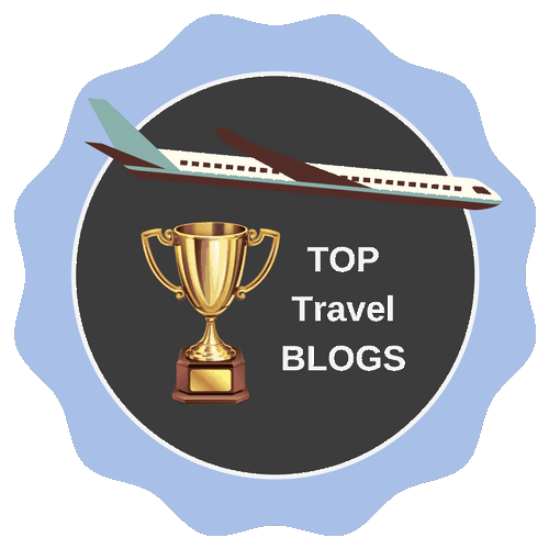 Top Travel Blogs badge from Smartlad!