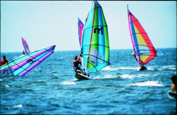 Windsurfing on the Outer Banks.