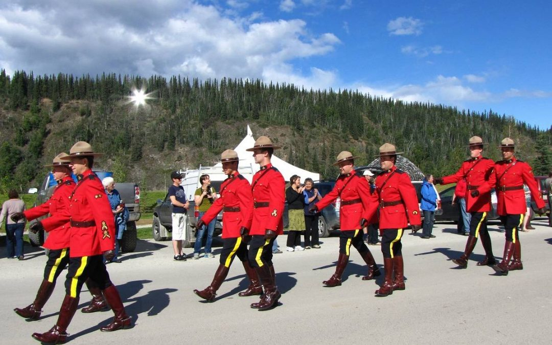Dawson City Discovery Days in the Yukon