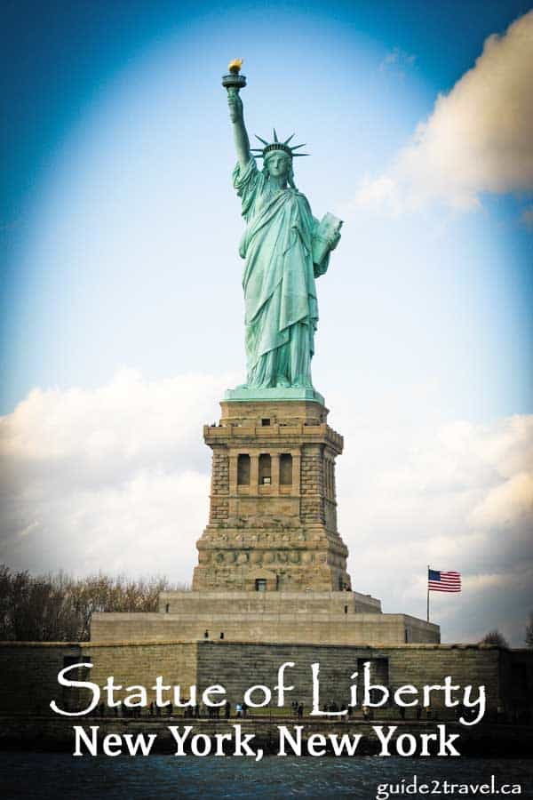 Statue of Liberty at New York, New York weekend getaway