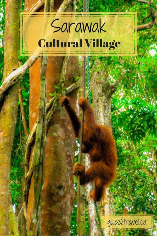 Sarawak Cultural Village in Sarawak, Malaysia.