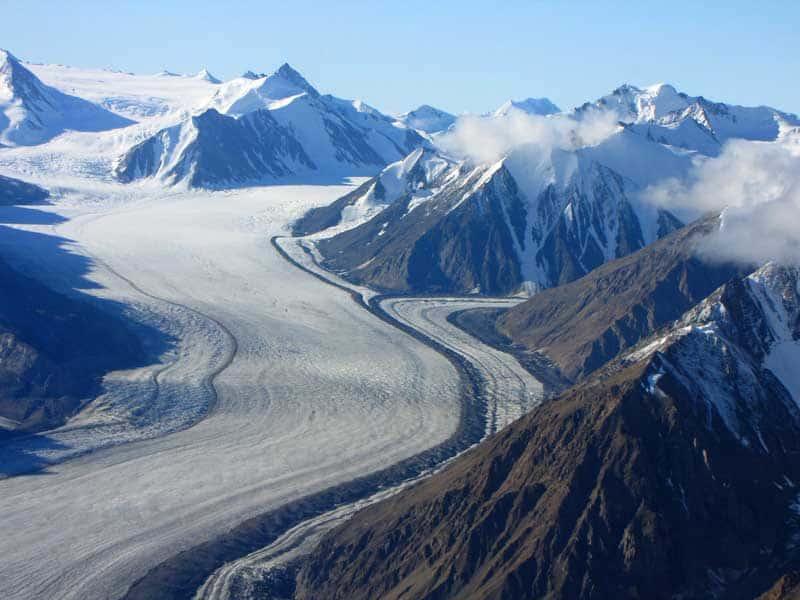 Glaciers of Kluane.