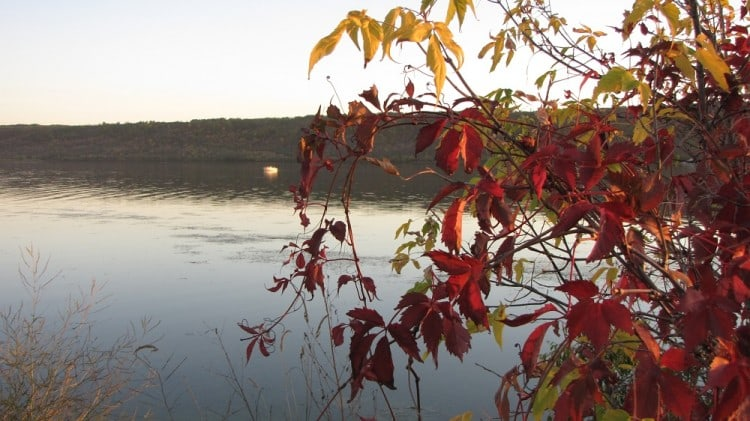 North side of Mission Lake in the Qu'Appelle Valley.