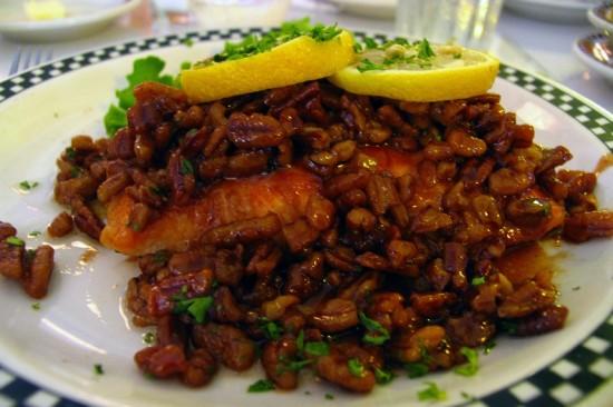 Kahlua Salmon entrée at All Steak Restaurant in Cullman, Alabama.