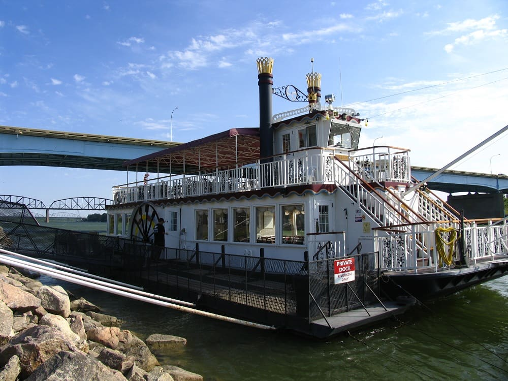 Lewis & Clark Riverboat in Bismarck, North Dakota