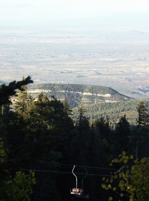 Ride the Tramcar to the Top of Sandia Peak–Albuquerque, New Mexico