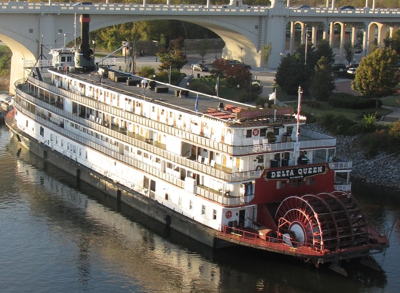 Delta Queen Hotel Riverboat in Chattanooga, TN.