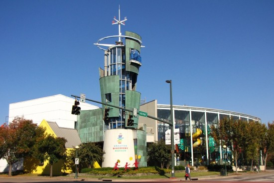 Creative Discovery Museum in Chattanooga, TN.