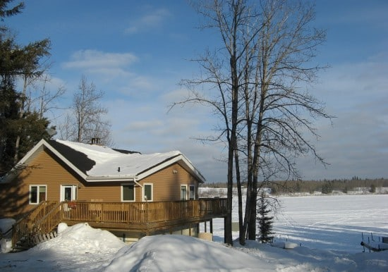 Green Lake Lodge, situated on Green Lake in northern Saskatchewan, near Meadow Lake.