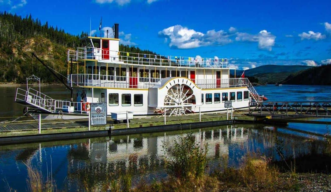 Klondike Spirit Paddlewheeler — Boating Up the Yukon River