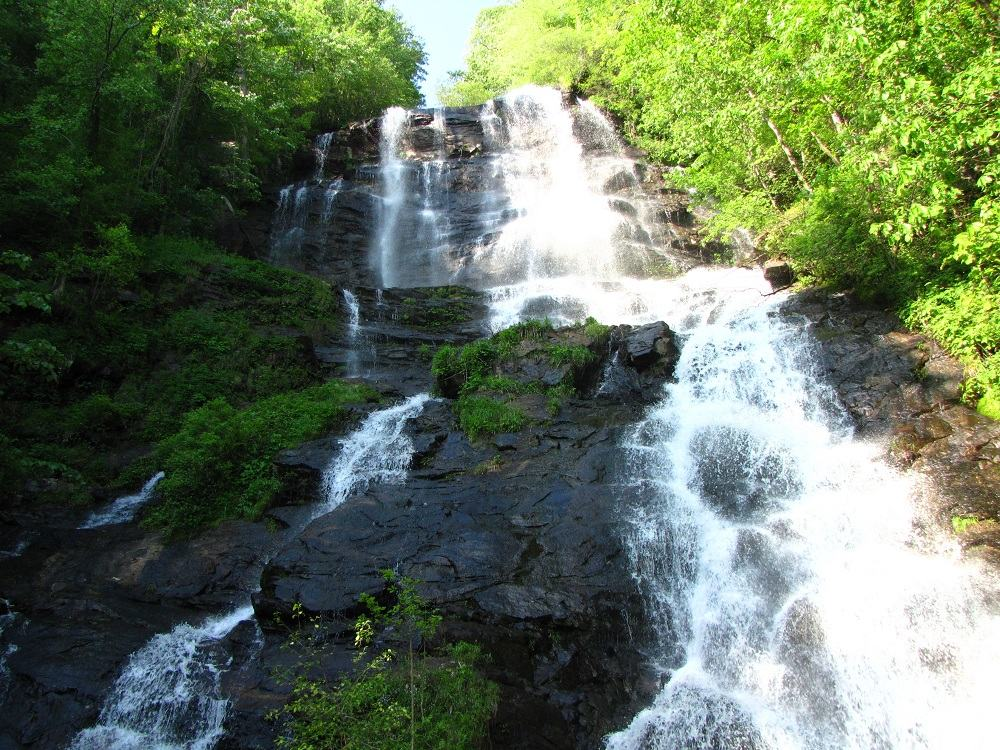 Travel Georgia–Visit Amicalola Falls–One of Georgia's 7 Natural Wonders