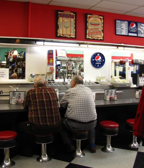 Quirky Food Stops–Hurst Drugstore Soda Fountain–Bardstown, Kentucky