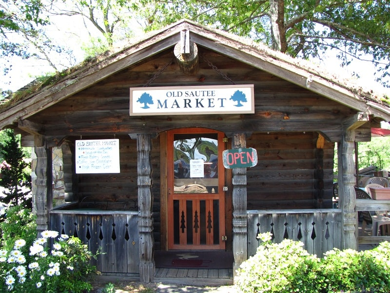 Quirky Eating Spots–Old Sautee Market–Sautee-Nacoochee, GA