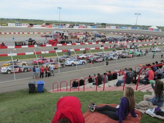 Auto Clearing Motor Speedway in Saskatoon, SK