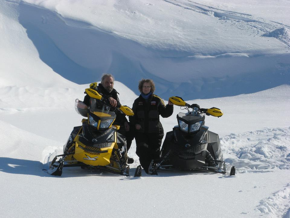 Friday Feature Photos–Chill Out With Snow and Snowmobiles!