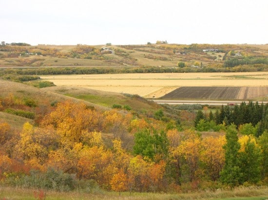 Qu'Appelle Valley at Lumsden