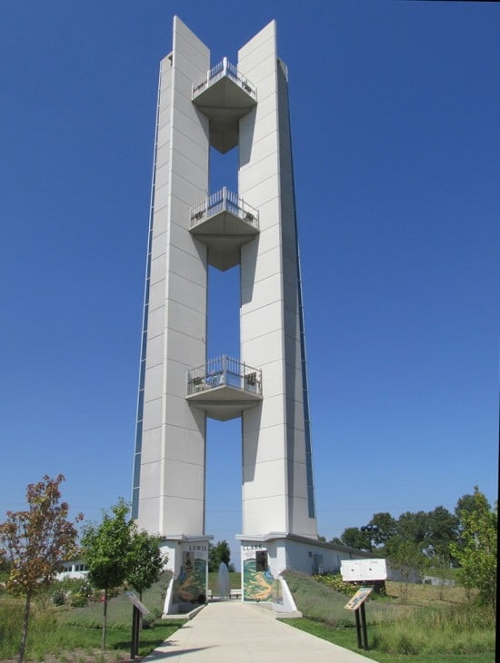 Lewis & Clark Confluence Tower.