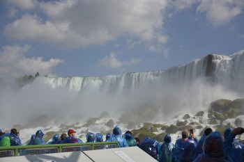 The American Falls at Niagara, New York