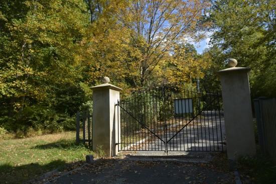 Iron gate at Sunnyside.
