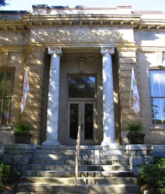 Carnegie Library in Albany, Georgia.
