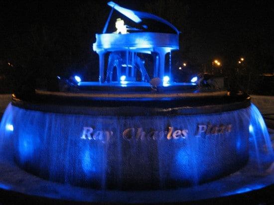 Ray Charles Plaza.
