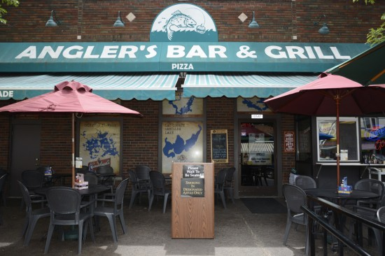 Anglers Bar & Grill in Hayward, WI.