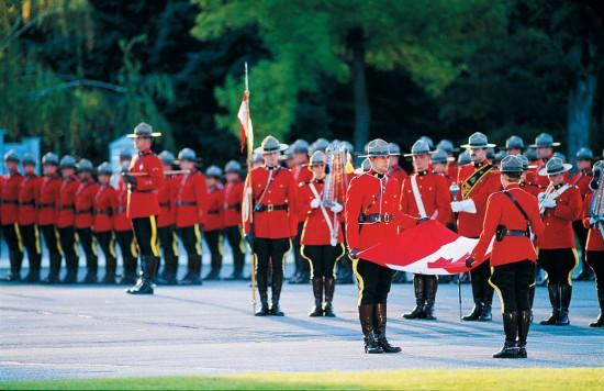 RCMP Sunset-Retreat Ceremony