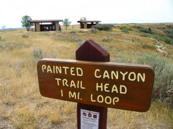 Painted Canyon Trail Head