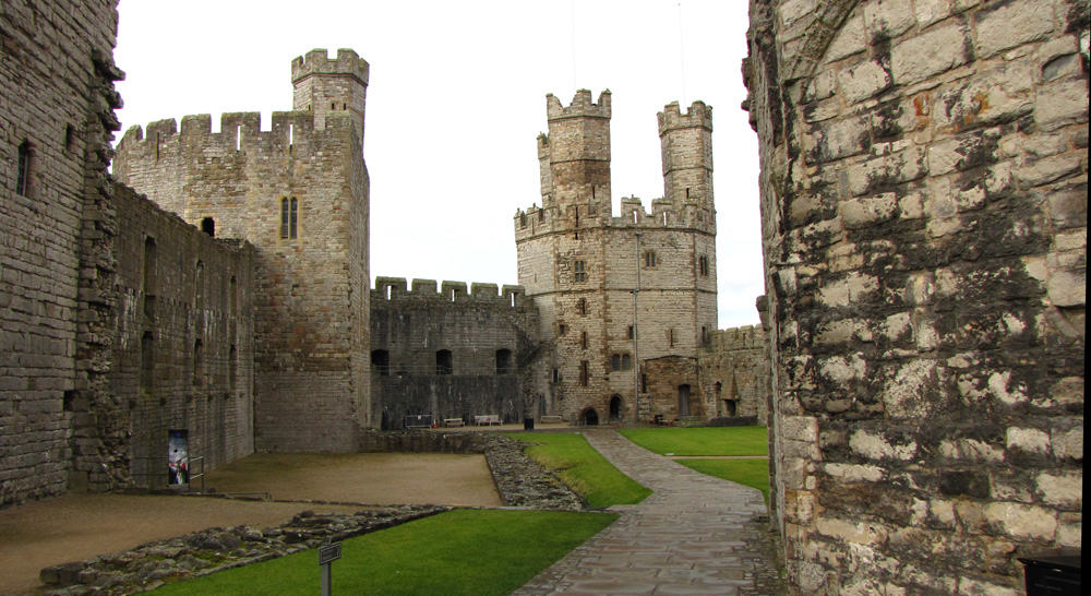Caernarfon Castle: A Visit to Caernarfon, Wales, and Stay at the Celtic Royal