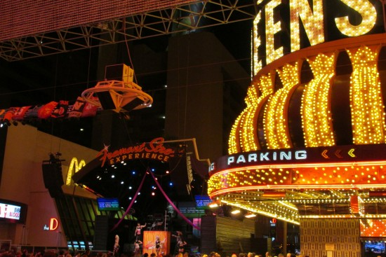Fremont Street lights