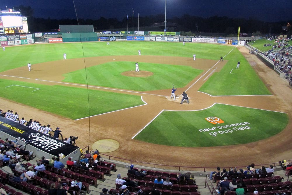 Take Me Out To The Ball Game Timber Rattlers At Fox Cities Stadium Guide2travel Ca