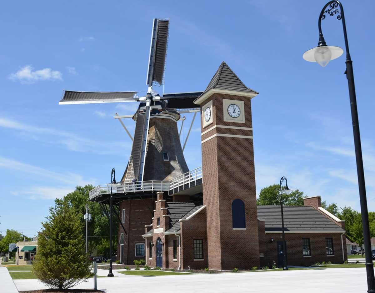 Visit the Dutch Windmill in Little Chute: An Authentic 1850s Wind Mill