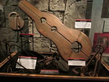 15th century punishment tools
