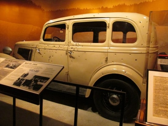 Bonnie & Clyde's car