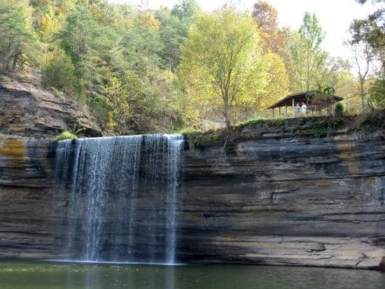 Lake Cumberland's 76 Falls