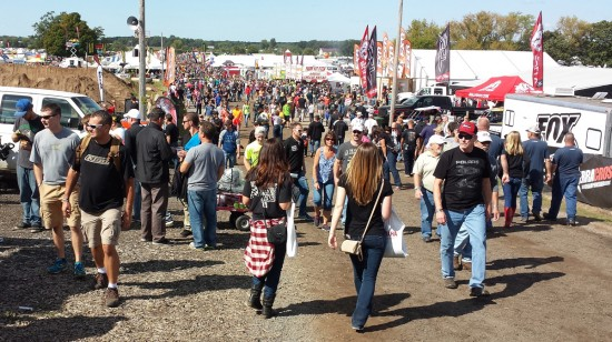 The crowd at Haydays!