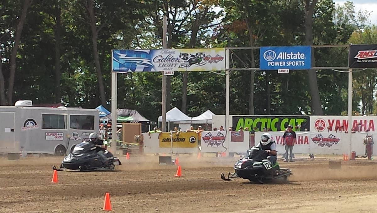 Getting a Piece of the Action at the World's Largest Snowmobile Event — Hay Days — #Braap