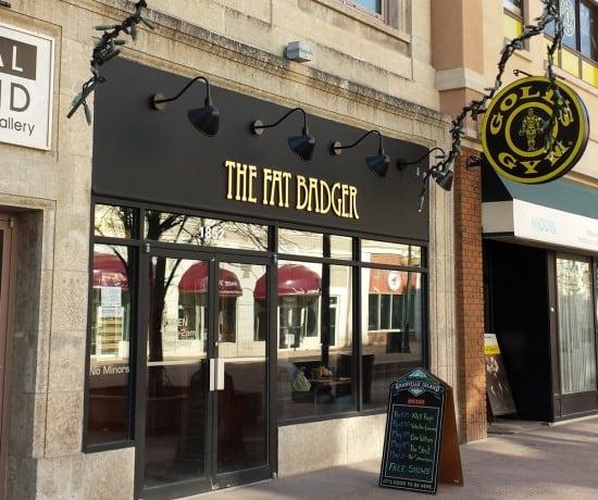 The Fat Badger Restaurant in downtown Regina