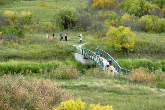 Bridge over Wascana Creek