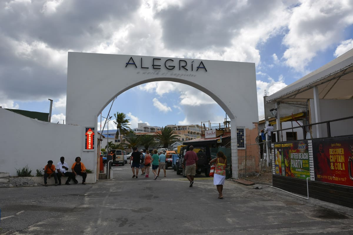 Alegria Resort at Maho Beach on St. Maarten.