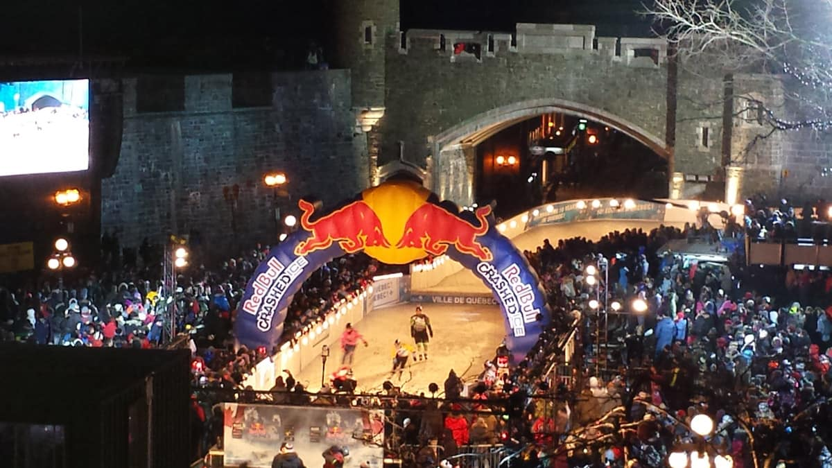 Action Sports: Quebec Crashed Ice Extreme Speed Skating Event