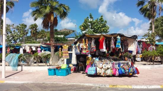 Marigot Market on St. Martin