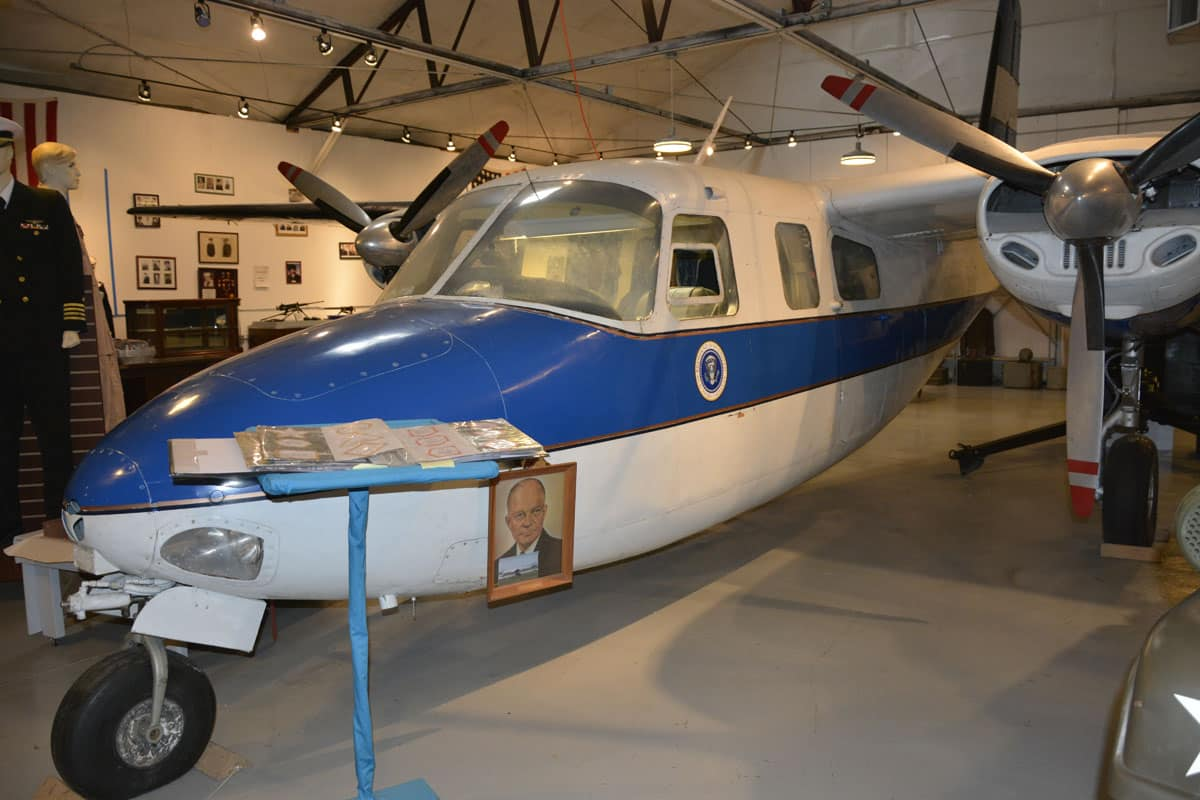 Houma Regional Military Museum Aircraft–Guess its Claim to Fame