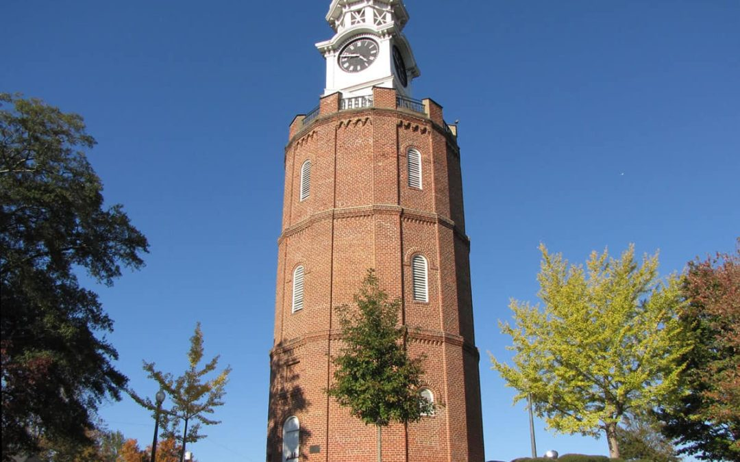 Guess Where this 100 Foot High Clock Tower Stands in Georgia?