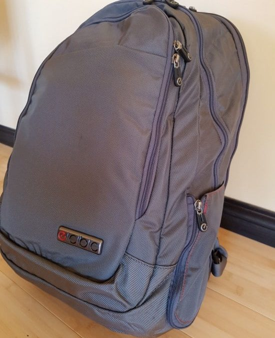 Traveling With the Lance Executive Daypack–Product Review