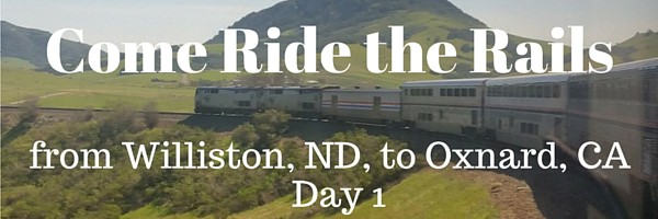 Riding the Amtrak Empire Builder Train--Williston, ND, to