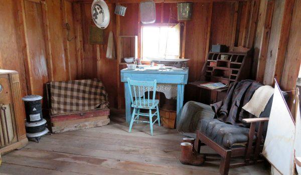 Cabin inside the Sukanen ship
