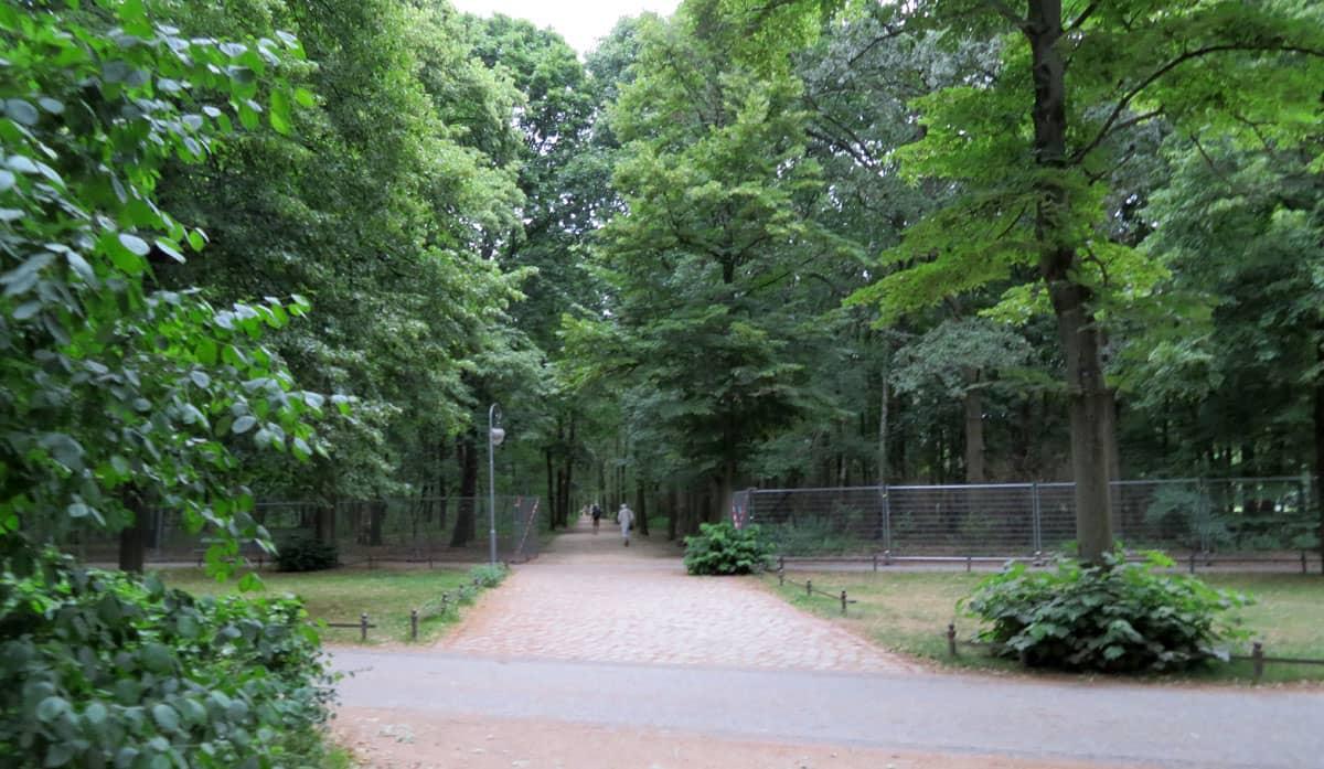Großer Tiergarten - Tiergarten Park in Berlin