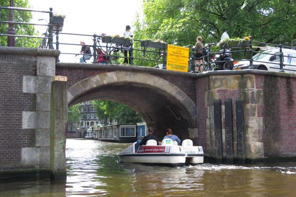 Boat on the canals